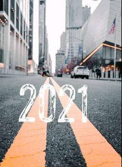 Empty road 2021